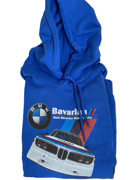 FOOTER BMW - BLUE LARGE