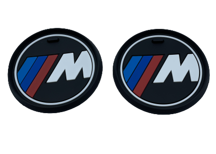 BMW CUP HOLDER MATTS - SMALL