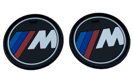 BMW CUP HOLDER MATTS - MEDIUM