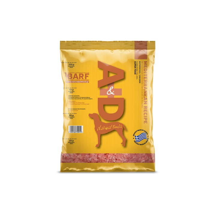 A&D NATURAL FOODS MEDITERRANEAN RECIPE - 1KG