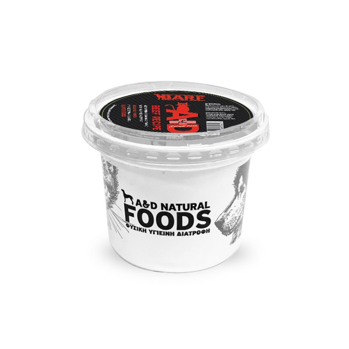 A&D NATURAL FOODS BEEF RECIPE - 250G