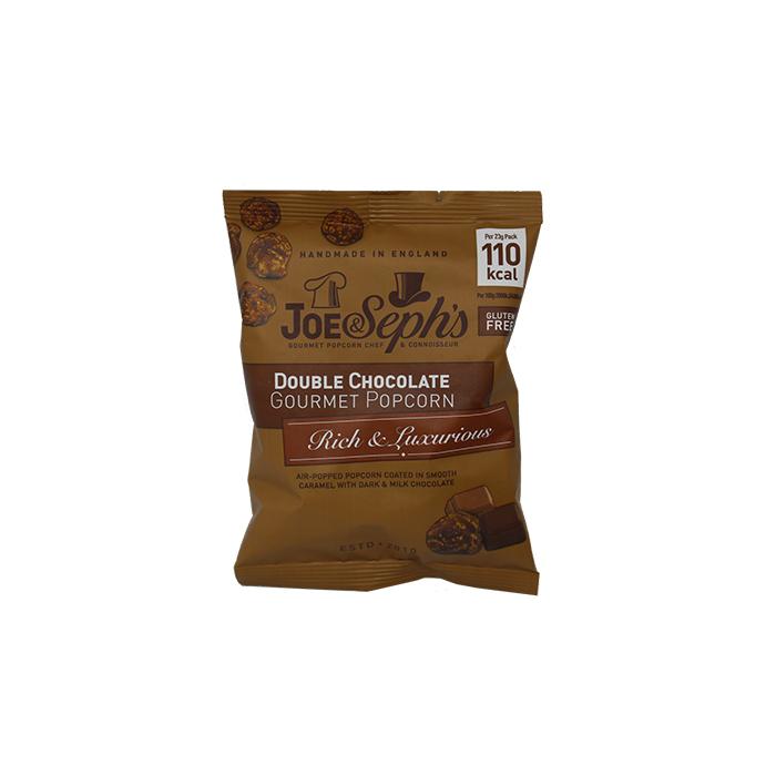 Joe & Seph's - Double Chocolate Popcorn 23g Foil Pack