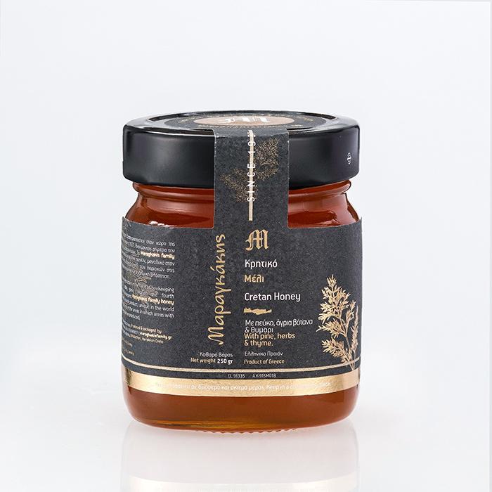 100% Pure Cretan Honey (250g)