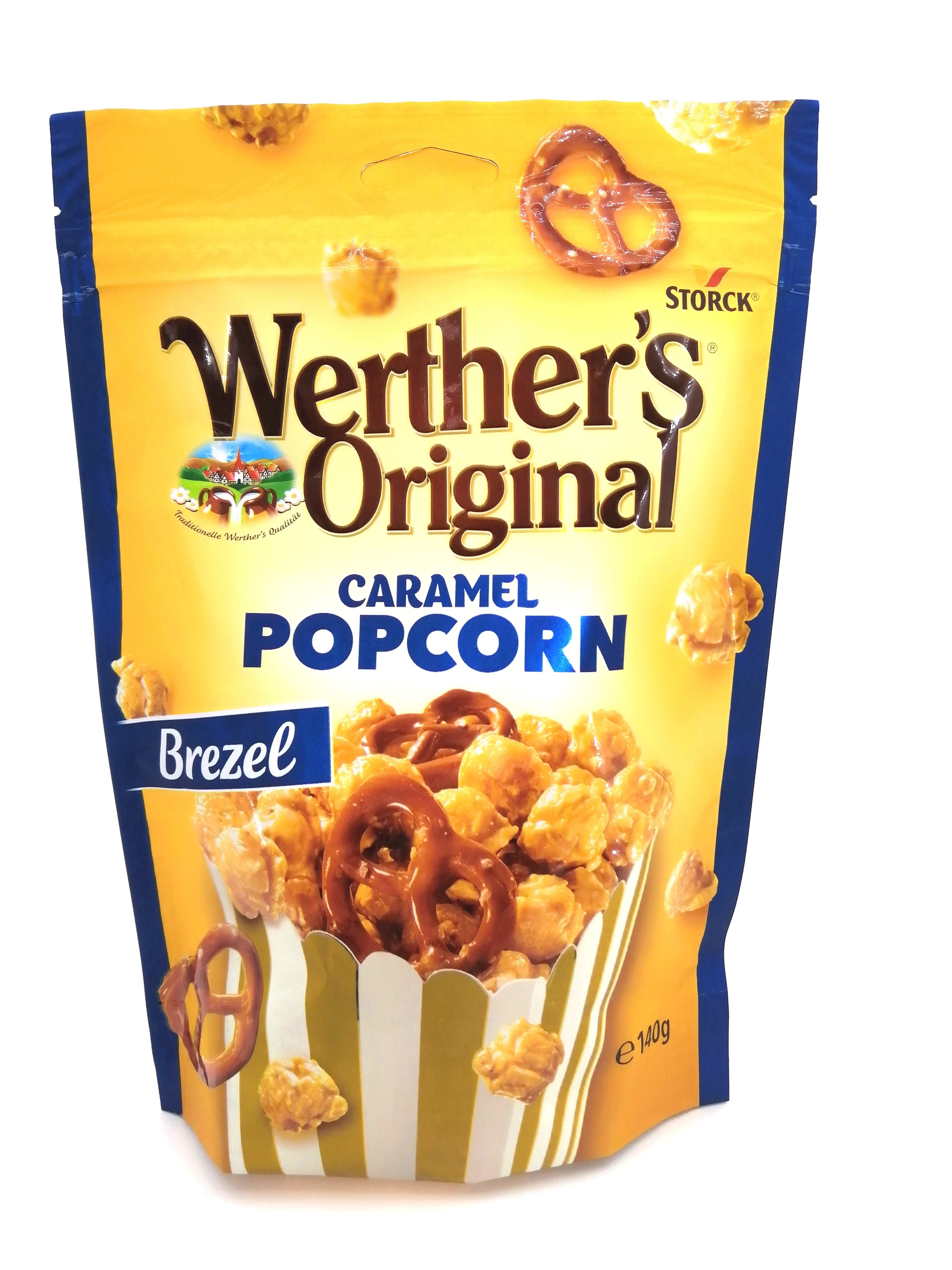 werthers pop corn caramel brezel