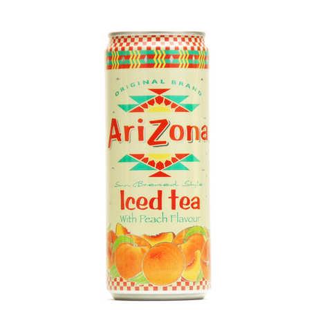 ARIZONA ICED TEA WITH PEACH FLAVOUR - 330ML