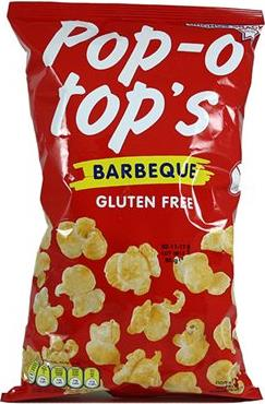 POP-O TOPS BARBEQUE - 85g