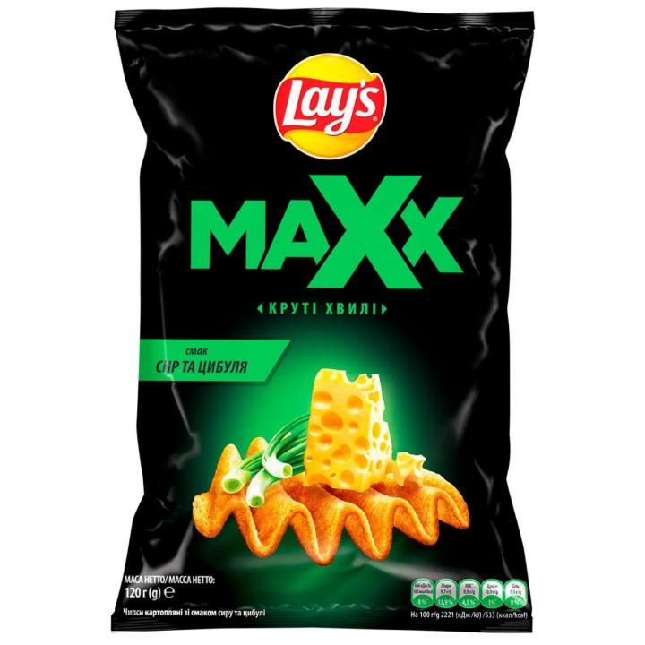 LAYS MAXX SALT & VINAGAR - 180G