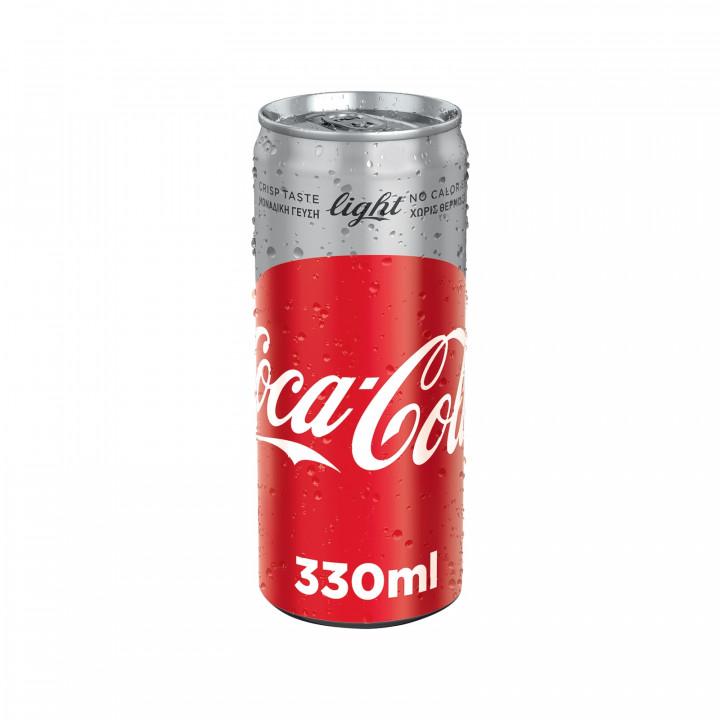 COCA-COLA LIGHT CAN 330ML