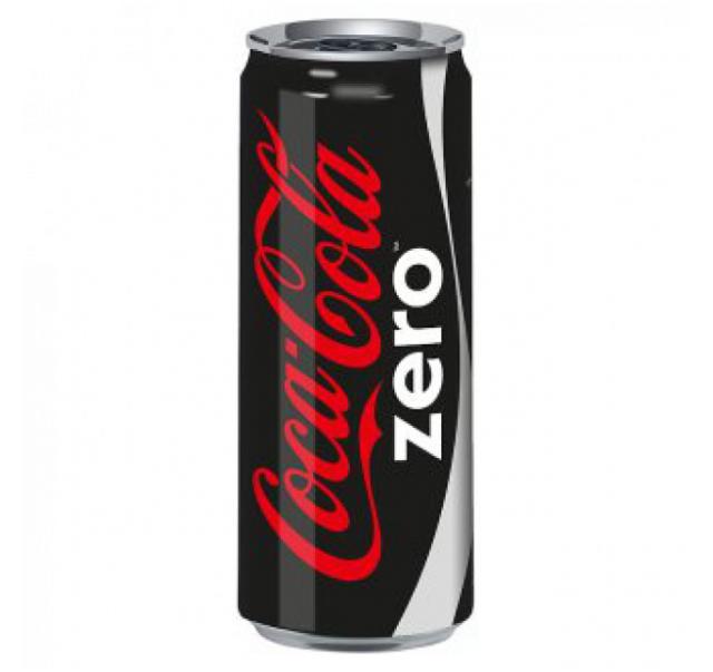 COCA COLA ZERO CAN (N)