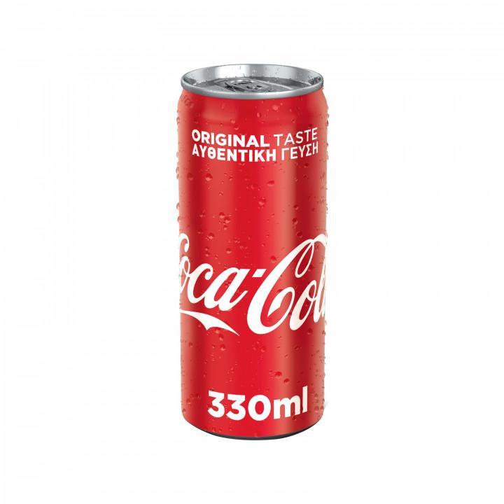 COCA-COLA CAN 330ML NEW