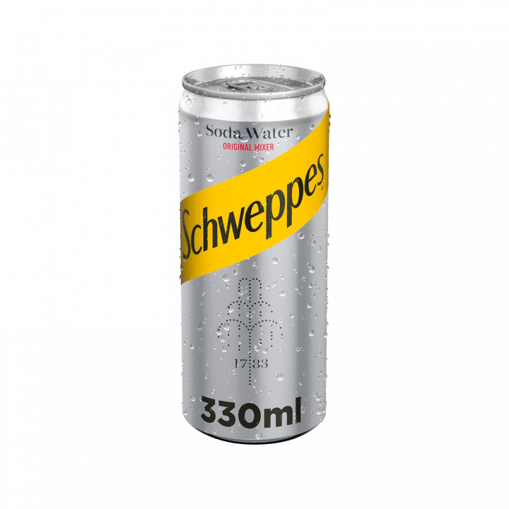SCHWEPPES SODA NEW CAN