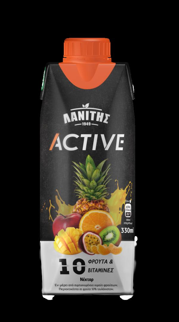 LANITIS ACTIVE  10 FRUITS+VITA