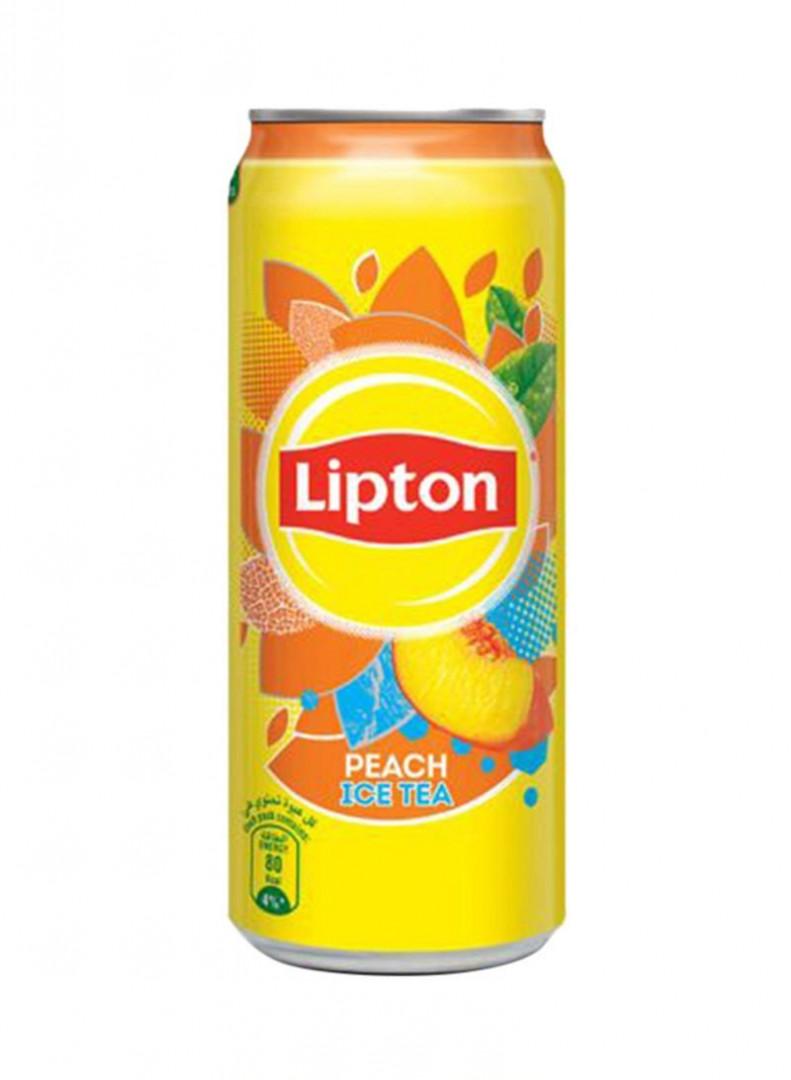 LIPTON PEACH ICE TEA CAN 330ML