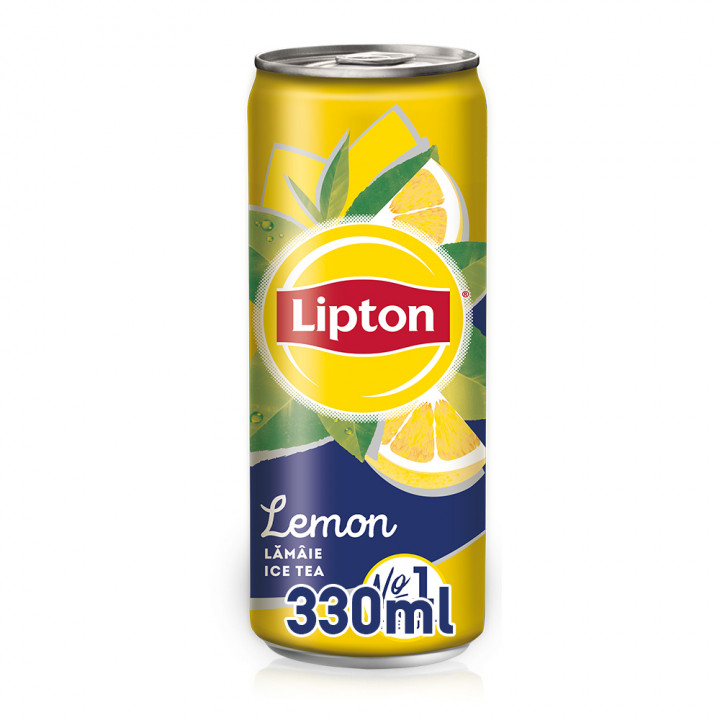 LIPT. LEMON ICE TEA CAN 330ML