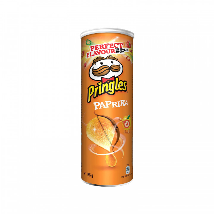 PRINGLES PAPRIKA 19X165GR