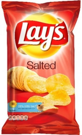 LAYS SALTED 180GR