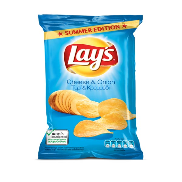 LAYS CHEESE & ONION 1X45GR