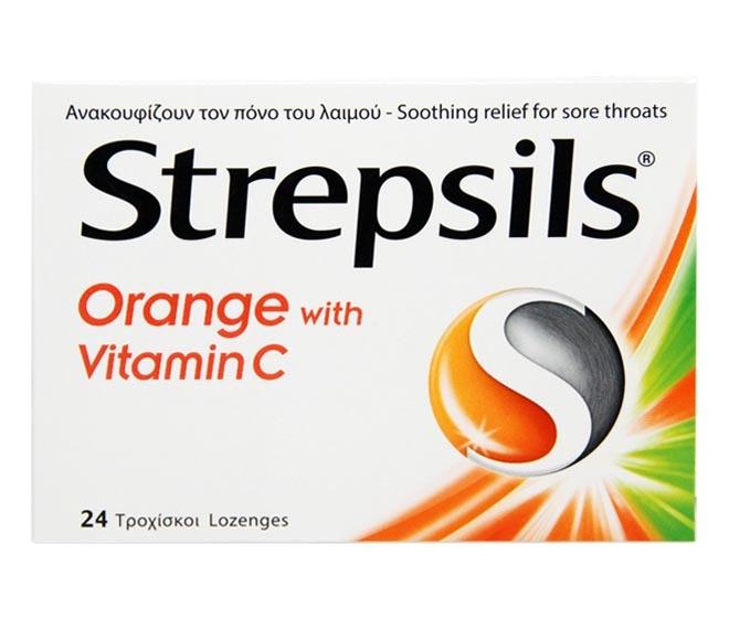 STREPSILS ORANGE