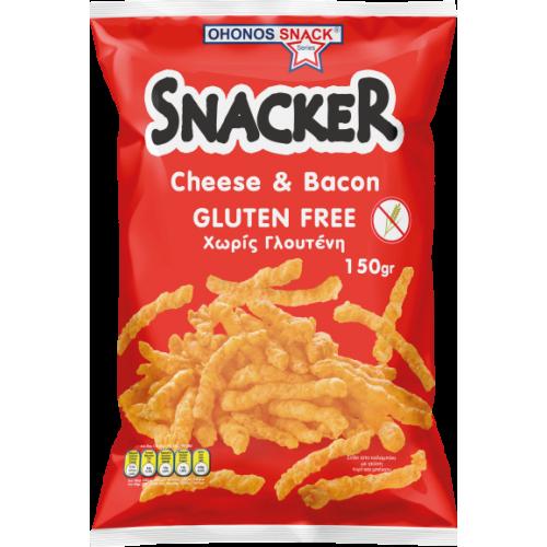 SCACKER 150GR CHEESE BACON