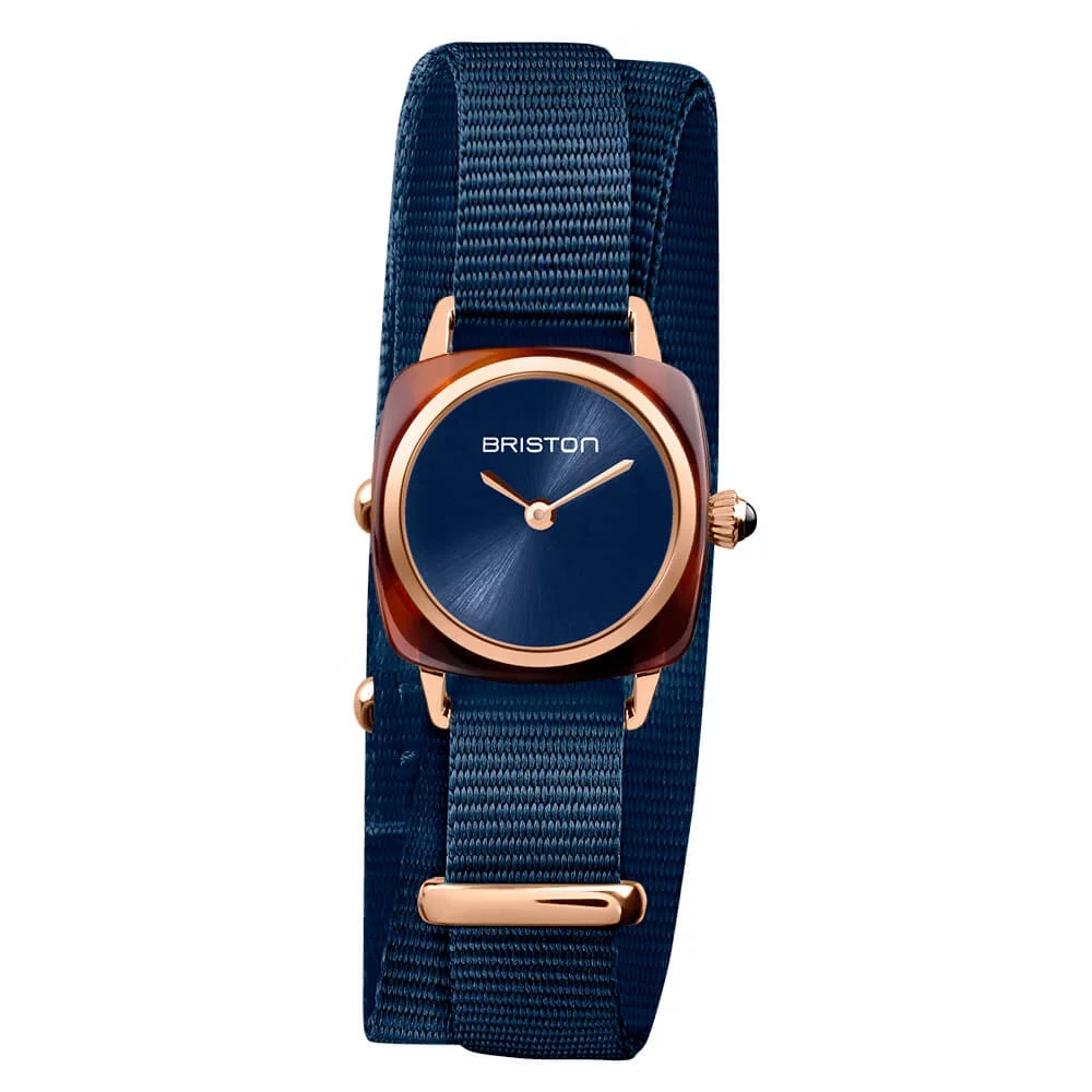 CLUBMASTER LADY ACETATE – MIDNIGHT BLUE ROSEGOLD
