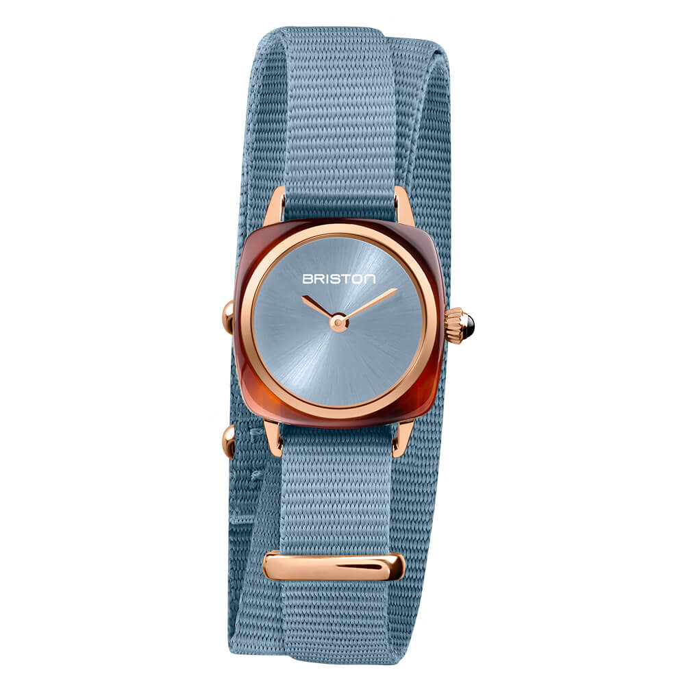 CLUBMASTER LADY ACETATE – ICE BLUE ROSEGOLD