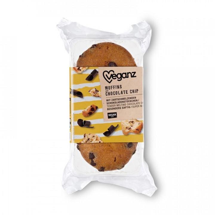 VEGANZ CHOCOLATE CHIP MUFFINS 150G