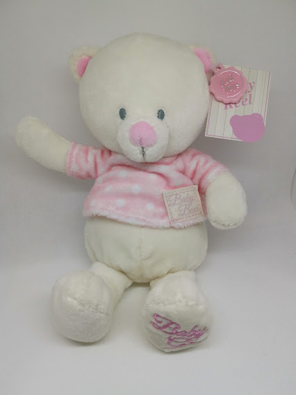 Baby Girl Bear keel Toys 17cm t-shirt