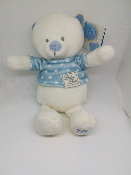 Baby Boy Bear keel Toys 17cm t-shirt