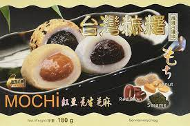 TAIWAN MOCHI WITH RED BEAN PEANUT SEASAME PASTE 180G