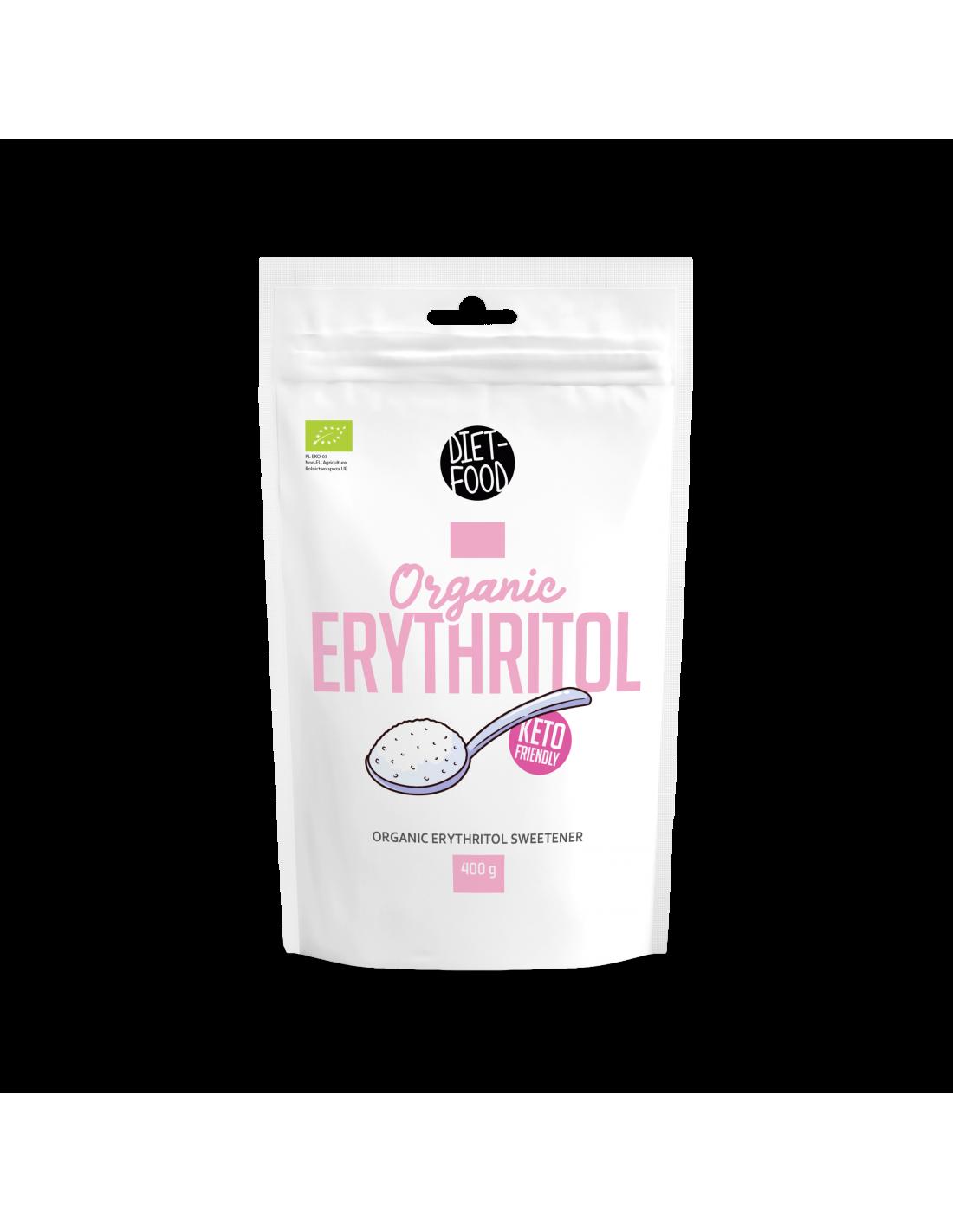 DIETFOOD - ORGANIC ERYTHRITOL 400G