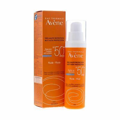 Avene  Αντηλιακή Λεπτόρρευστη Κρέμα Προσώπου Χωρίς Άρωμα Spf50 50ml