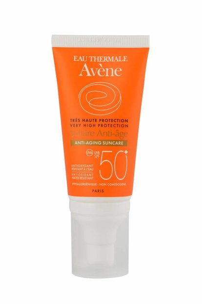 Avene solaire anti-aging face sun care spf50 dry touch