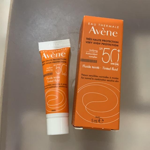 Αvene face suncream fluide teinte spf50