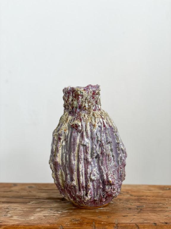 Ornamental fruit vase - Purple