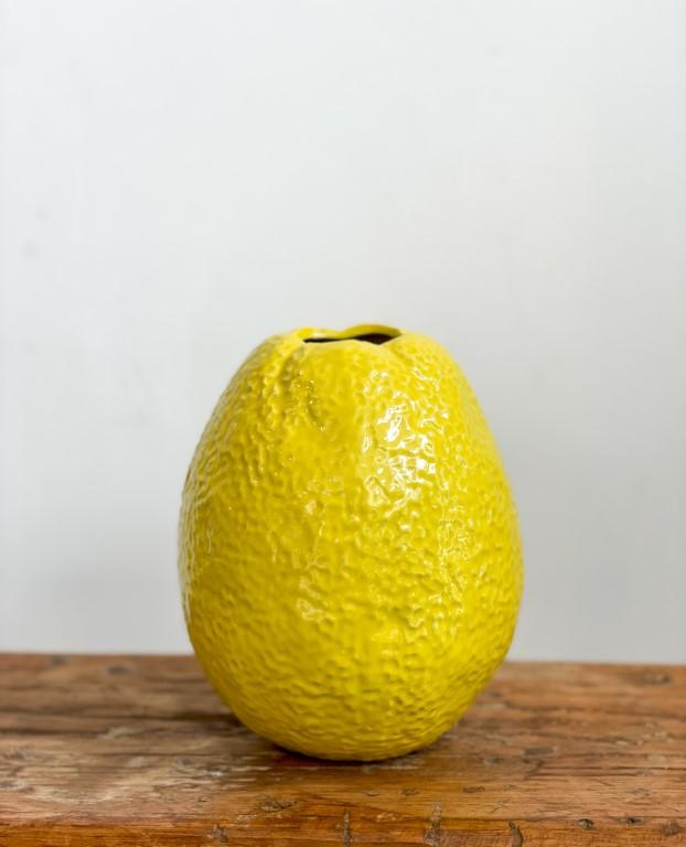 Lemon vase - medium