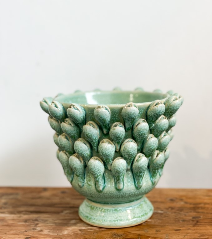 Crocus vase green - small