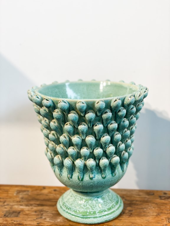 Crocus vase green - big