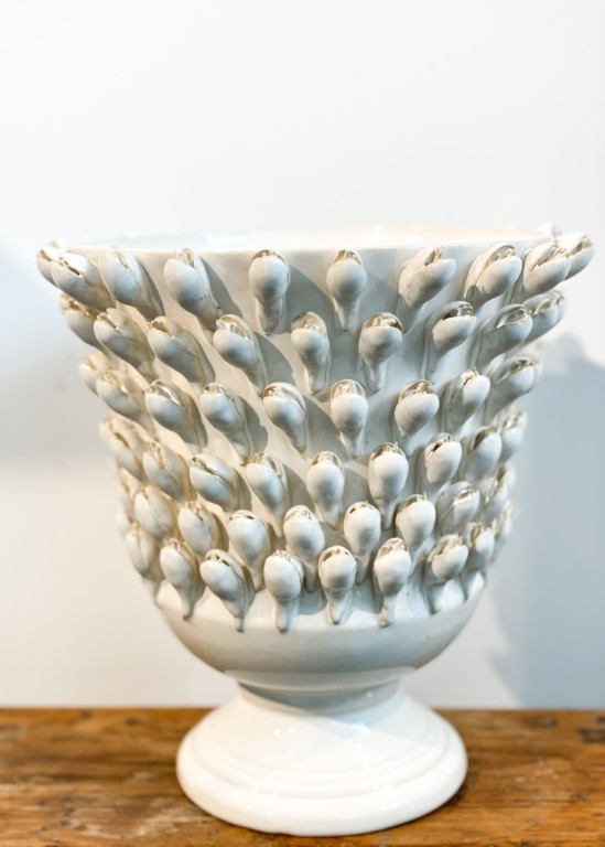 Crocus vase white - big