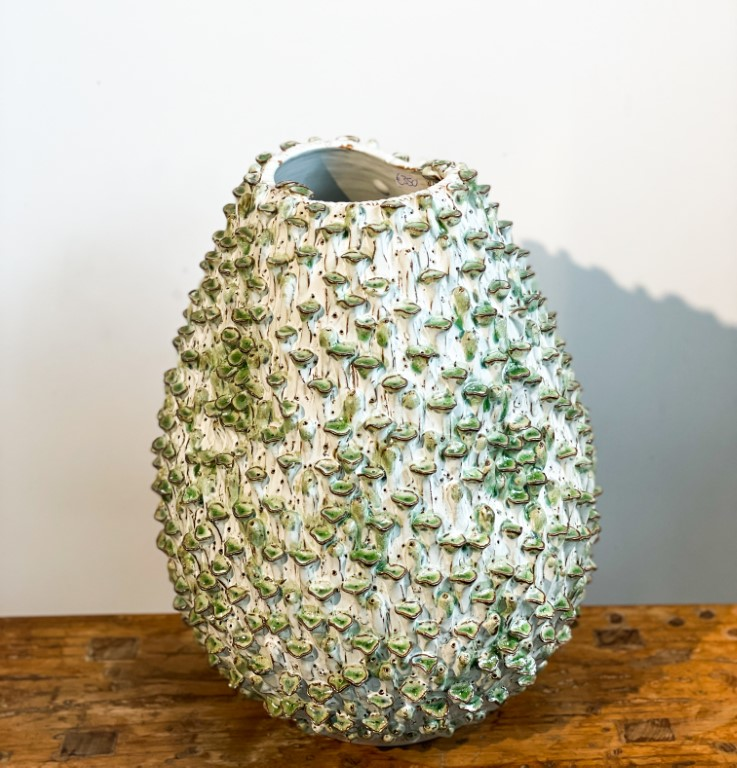 Egg shaped vase