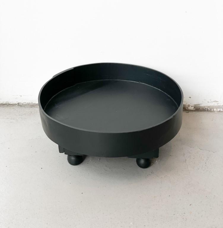 Tray table black 40cm