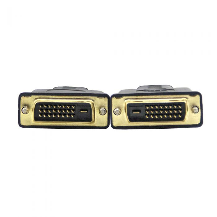 VCOM DVI to DVI 1.8m 24K Gold Plated Connector