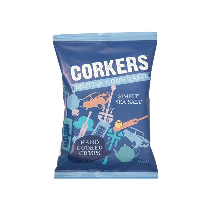 Corkers Simply Sea Salts 40gr