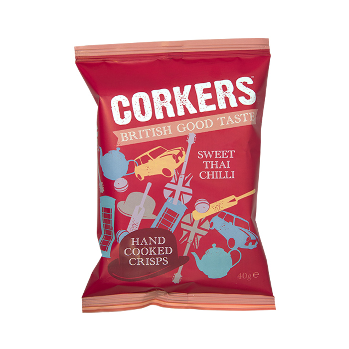 Corkers Sweet Thai Chilli 40gr