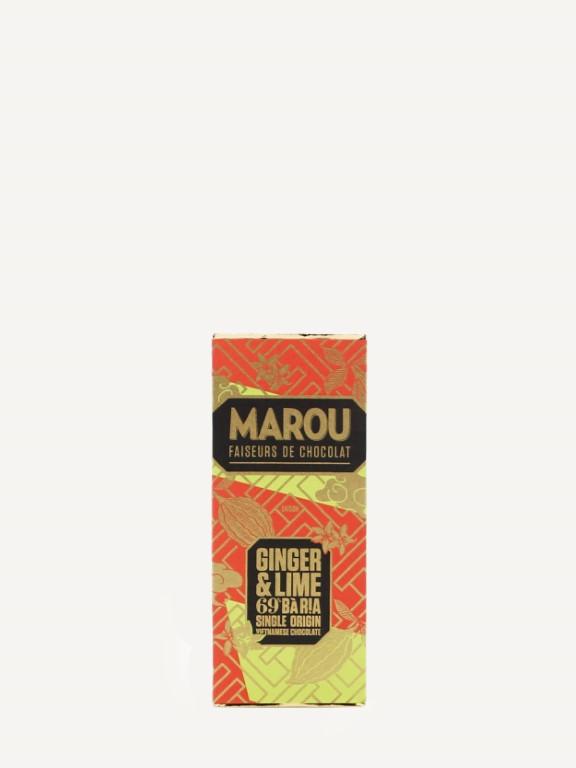 MAROU Ba Ria 69% GINGER & LIME 24g
