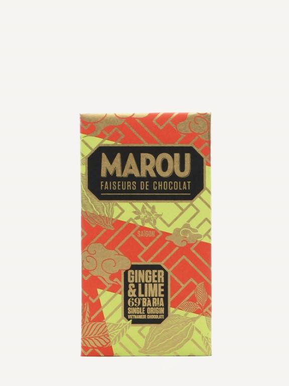 MAROU Ba Ria 69% GINGER & LIME 80g