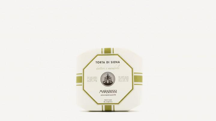 MARABISSI Torta Datteri & Mandorle 350g