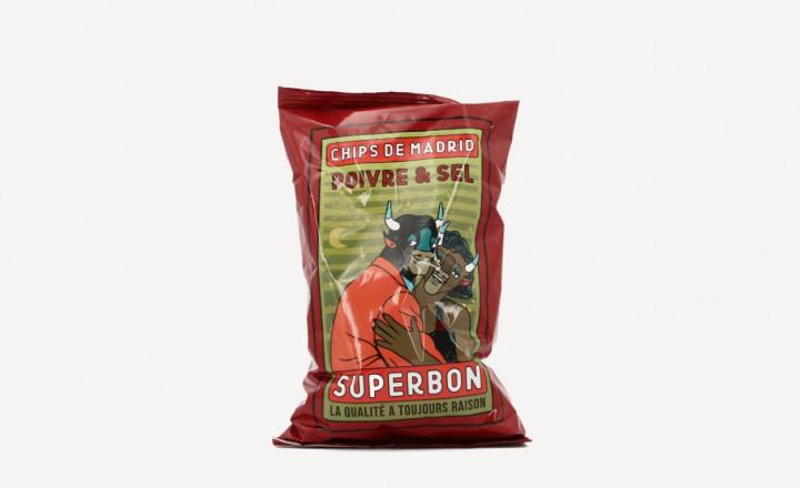 SUPERBON Salt & Pepper Chips 135gr
