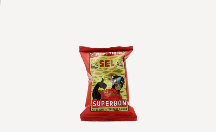 SUPERBON salt chips 45gr