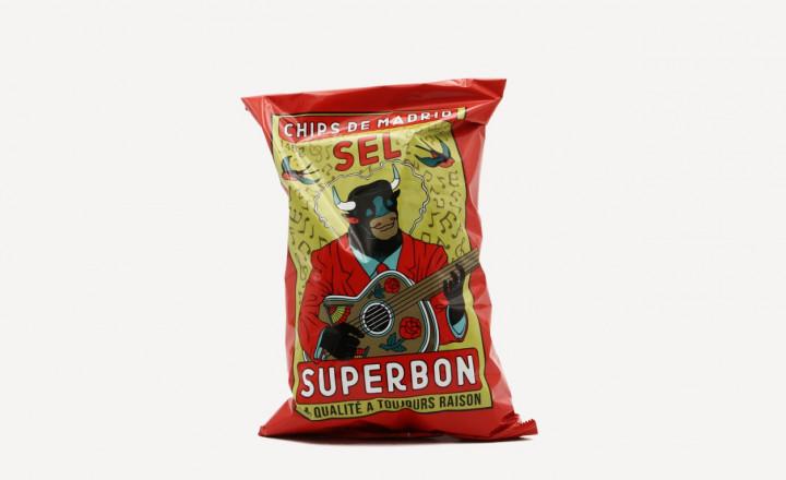 SUPERBON Salt chips 145gr