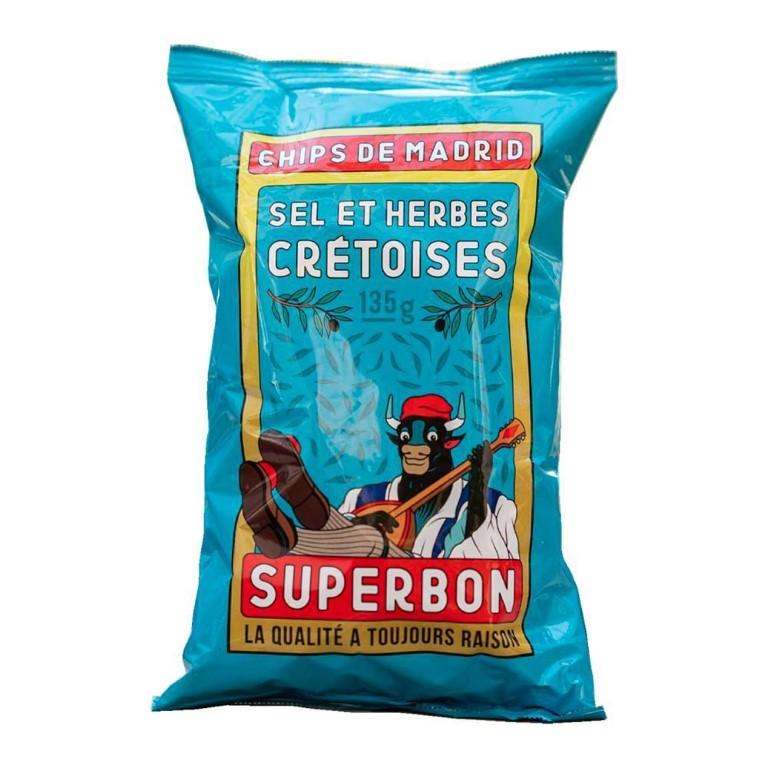 SUPERBON Cretian Chips 135gr